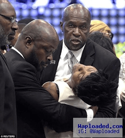 Photos: Heartbreaking moment mother of Orlando massacre victim collapsed at his funeral